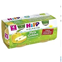 2x80g HiPP Bio homogeneizada Golden Apple