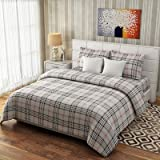 #3: Elastic Fitted Bedsheets (Brown Check)