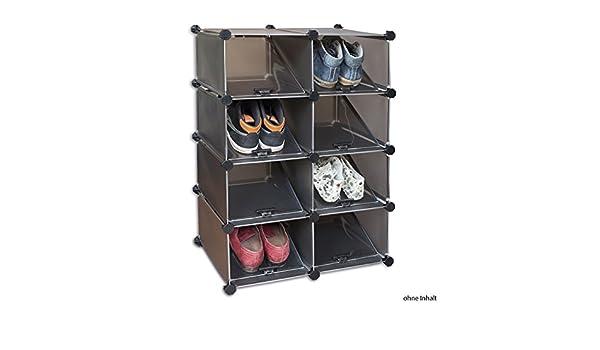 Schoenenkast Voor 16 Paar Schoenen.Deluxa Modulaire Schoenenkast 16 Paar Amazon Co Uk Kitchen Home