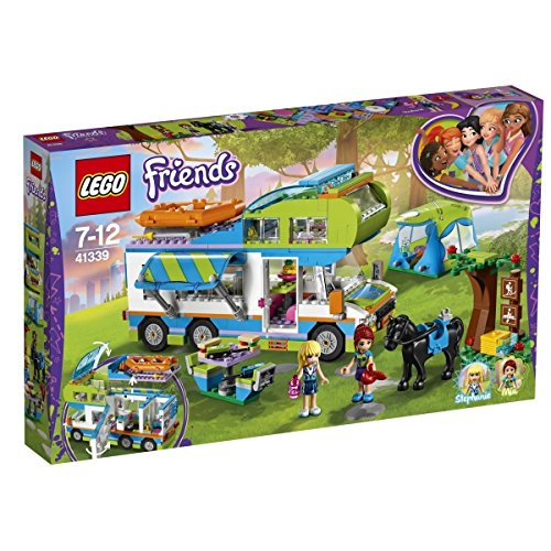 LEGO Friends - Le camping-car de Mia - 41339 - Jeu de Construction