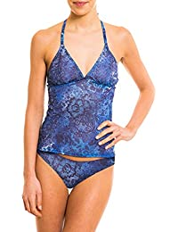 Kiniki Ramona Tan Through Sonnendurchlässiger Tankini Top