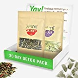#10: 30 Day Detox Tea Kit for Teatox & Weight Loss to get that Skinny Fit and Flat Tummy by Teami Blends | With Our Best Colon Cleanse Blend to Raise Energy, Boost Metabolism, Reduce Bloating!