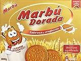 Marbú Dorada Sabrosa y Crujiente Galleta Maria - 800 g