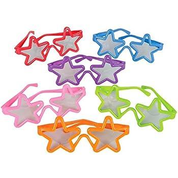 German Trendseller® - 12 lunettes etoiles de fête┃ anniversaire d enfant┃  Party Loot ┃cadeau-souvenir┃ chasse au trésor ┃ Party Box 09a77ec0197c