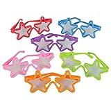 German Trendseller® - 12 lunettes etoiles de fête┃ anniversaire d'enfant┃ Party Loot ┃cadeau-souvenir┃ chasse au trésor ┃ Party Box...