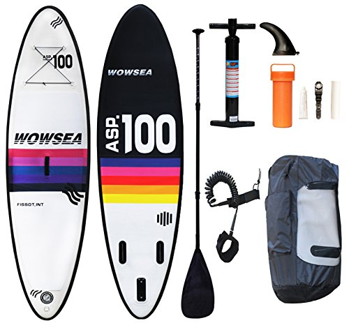 WOWSEA Tabla Hinchable Paddle Surf/ SUP Paddel Surf con Inflador, Moch