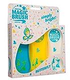 Pferdebürstenset Kerbl MagicBrush in verschiedenen Farben (Butterfly) -