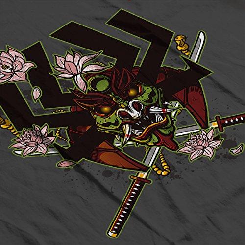 Kabuto Samurai Jack Women's T-Shirt Charcoal
