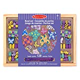 Melissa & Doug 14179 - Set di Perline in Legno. Amici Farfalle