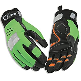Kinco 2051HV-M-1 Hi-Vis Cold Weather Gloves, 11.25
