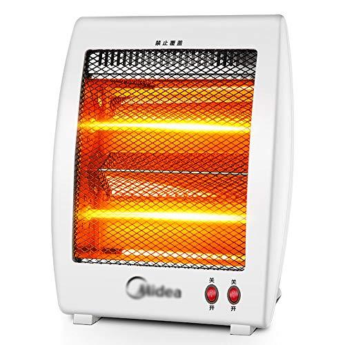 Portable Fern-Infrarot-Elektroheizung, Desktop-Halogen-Kleinstrahler, energiesparend, 400W / 800W