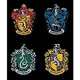 Unbekannt Harry Potter CAM259 Quilt-Panel – Hauswappen