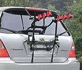 Fifth Gear Portabiciclette per 3 bici universale, montato nella parte posteriore dell'autoposteriore 3biciclette Auto Porta