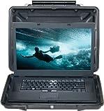 PELI Laptop Hardback Case Mod. 1095 schwarz mit Schaumstoff
