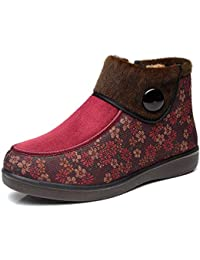 fe6ee77bfd99f HBDLH Scarpe da Donna in Inverno La Vecchia Pechino Panno Scarpe Scarpe da  Donna Velvet Anziani di Cotone Scarpe Scarpe di Mamma…
