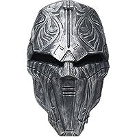 Halloween Maske Cosplay Kostüm Resin Helm Film Replik für Erwachsene Verrücktes Kleid Zubehör