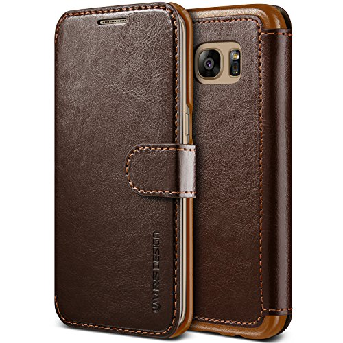 Funda-Galaxy-S7-Edge-VRS-Design-Layered-DandyMarrn-Oscuro-Card-SlotFlipSlim-FitPU-LeatherWallet-Para-Samsung-Galaxy-S7-Edge-2016