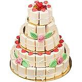 Süße Hochzeitstorte 5 stöckig Menge:2 Kg