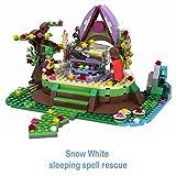 Ingenious Toys #1102 Snow White Slumber - sleeping spell rescue - 326pcs compatible building bricks construction set