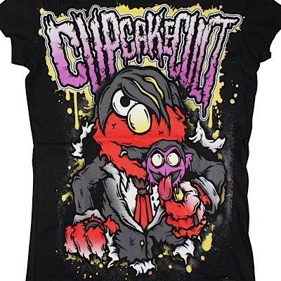 Cupcake Cult Girl-Shirt EEMO T black Black