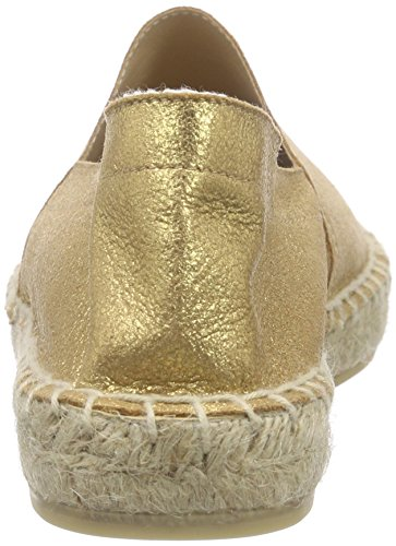 Vero Moda Vmlani Leather Espadrille, Espadrilles femme Or (Gold)