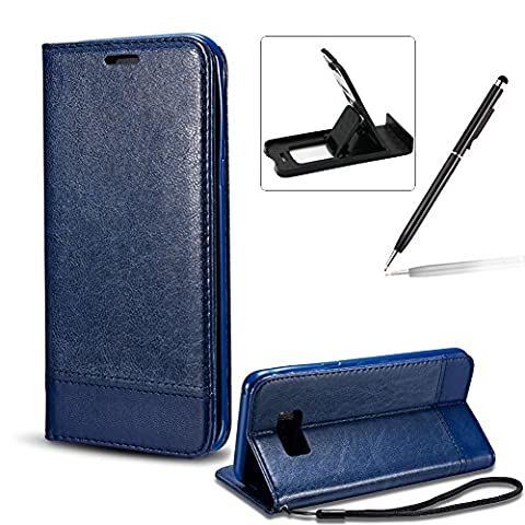 For Samsung Galaxy S8 Portable Carrying Wallet Strap Case,For Samsung