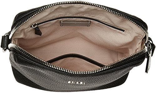Joop! - Nature Grain Daphne Shoulderbag Svz, Borsa a spalla Donna nero (nero)