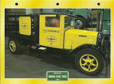 maxi-card-trucks-indiana-stake-truck-pennzoil-cl-dist-co-photo-reprint-picture