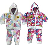 Manzon Baby Soft Winter Jacket & Pant Combo - Set Of 2