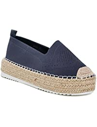 it Basse Espadrillas Scarpe Doppio Da Donna Amazon Fondo Zqdpn44