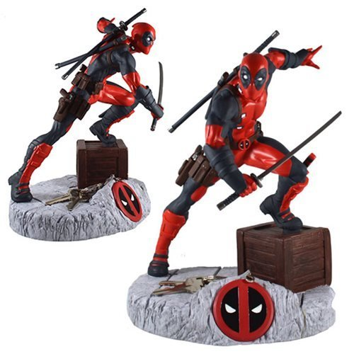 "Marvel Deadpool Finders Keypers 10"" PVC Statue"