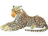 Plüschtier Leopard - liegend - 90 cm