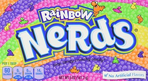 Preisvergleich Produktbild Wonka Nerds Regenbogen,  2er Pack (2 x 141g )
