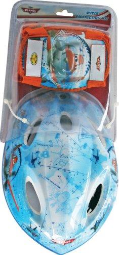 Disney 35646 Planes Sporting Kit Caschetto Gomitiere Ginocch