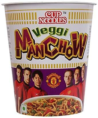 Nissin Cup Noodles - Veggie Manchow, 70g Cup