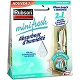 Rubson 1940376 Minifresh Sachet d'Absorbeur d'humidité 2 pièces 50 g Neutre