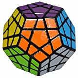 LSMY Megaminx 3x5 Puzzle Cubo Toy Negro
