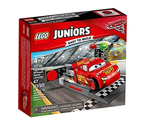 LEGO UK 10730 Cars 3 Lightning McQueen Speed Launcher
