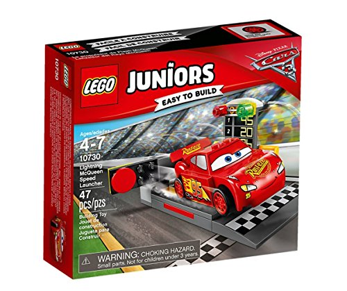 LEGO 10730 - Juniors, Rampa di Lancio di Saetta Mcqueen