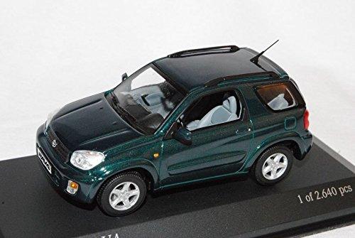 toyota-rav4-2000-2006-grun-3-turer-1-43-minichamps-modell-auto-mit-individiuellem-wunschkennzeichen
