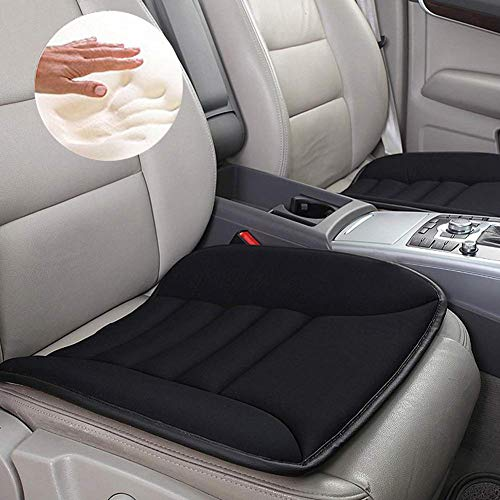 Big Ant Sitzauflage Auto, Sitzkissen Auto Weiche Sitzkissen Komfort Stuhlkissen Sitzbezug Passt für Autositz Bürostuhl und Alle Stühle (1 Stück)