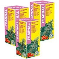 Feminal Phyto Konzentrat - Pack von 3-21 Tage Kurs - Natürliche Pflanzenextrakte Komplex - Menstruation Zyklusstörung... preisvergleich bei billige-tabletten.eu