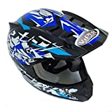 Best NEW Casques de moto - NEW Casque de motocross RS 13 Craze Junior pour Review