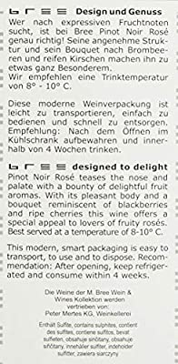 Bree Rose Spätburgunder Feinherb Bag-in-box (1 x 3 l)