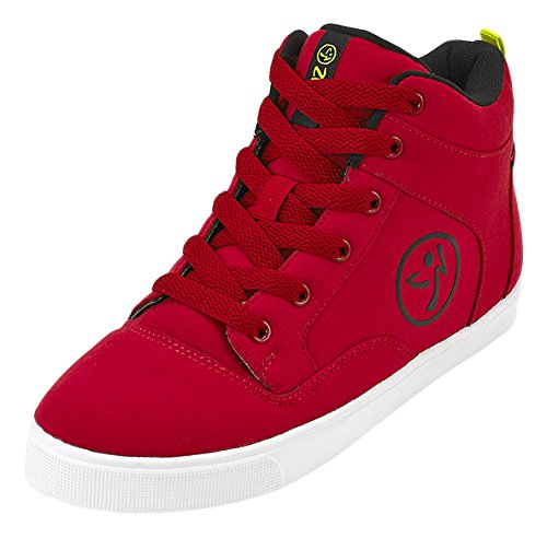 Zumba Footwear Street Fresh, Chaussures de Fitness Fille Rouge (Red)