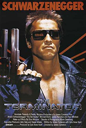 empireposter - Terminator - Teil 1 One Sheet Version 2 - Größe (cm), ca. 61x91,5 - Poster, NEU -