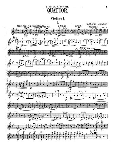 String Quartet on the Theme 'B-la-F' por Various