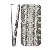 PIPETTO P027-16-6 Skinny Exotic Natur Schlangenleder Schutzschale für Apple iPhone 6/6S