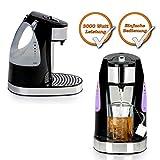Express Teekocher, Wasserkocher für 1 Becher (200ml) kochendes Teewasser in nur 45 Sekunden schwarz