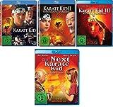 4 Blu-Rays - Karate Kid 1+2+3+The Next Karate Kid im Set - Deutsche Originalware [4 Blu-rays]
